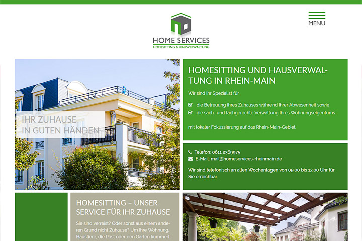 Home Services – Homesitting & Hausverwaltung